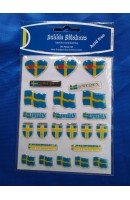 Stickers Swedish flag